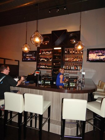Plae Bistro: New, larger bar area allows diners to better converse & eat