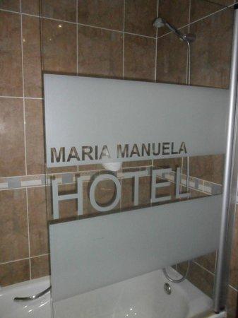 Hotel Maria Manuela: Ducha