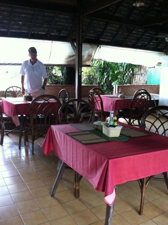 Galare Guest House: Dinning area