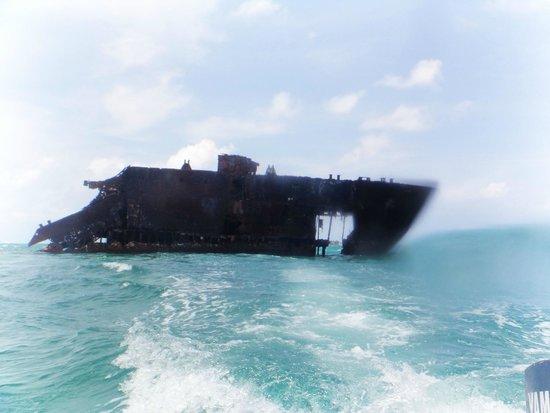 Sol Caribe Campo: barco