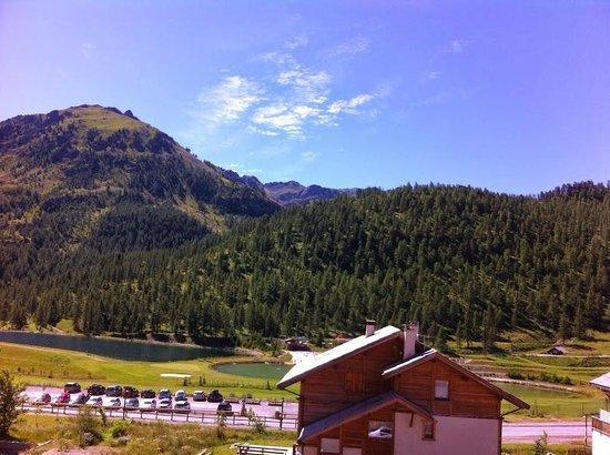 Hotel Le Chalet Blanc : Vue agréable du balcon