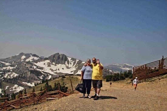 Snow King Resort : Top of Mount Rendezvous. 10,650 feet!