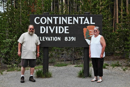 Snow King Resort : Driving thru Yellowstone you find great signs like this.