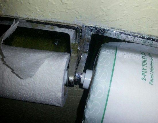 Days Inn Cocoa Cruiseport West At I-95/524 : toilet paper dispenser
