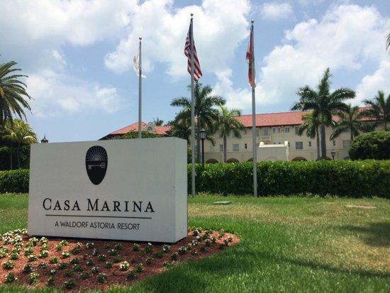 Casa Marina Key West, A Waldorf Astoria Resort: Huvudentrén