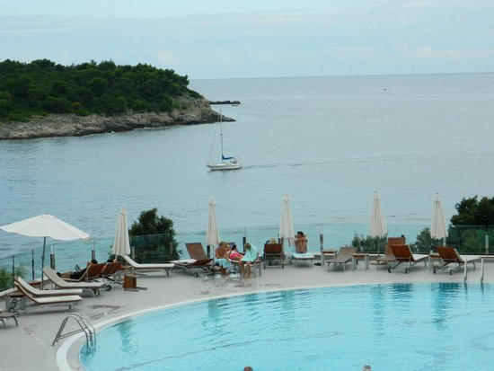 Park Plaza Histria Pula: View from Sun bed
