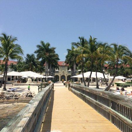 Casa Marina Key West, A Waldorf Astoria Resort: Brygga från anläggning ut i havet