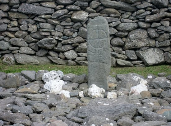Old Cross next to Gallarus Oratory