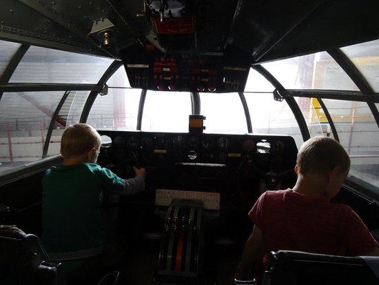 Solent Sky Museum: In the Cockpit of the Beachcomber