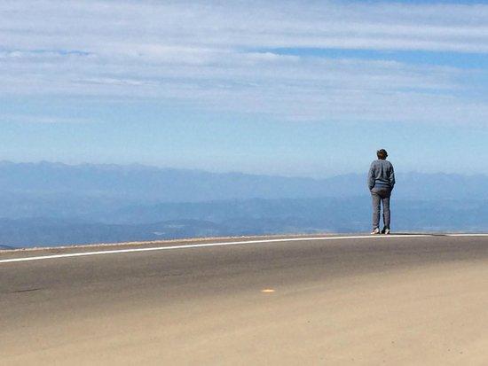 Pikes Peak Cog Railway: 14,000 feet up