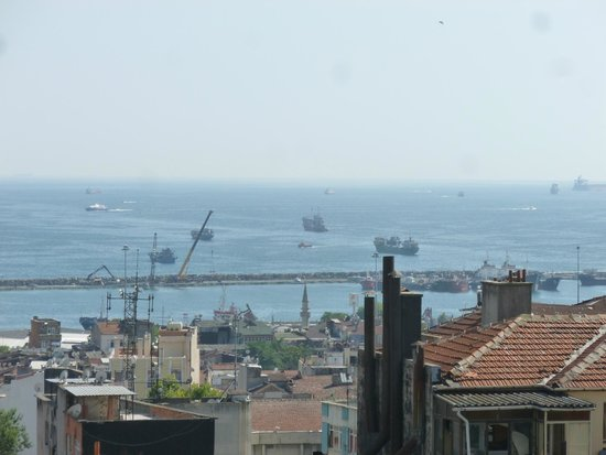 Hotel Niles Istanbul: View from the rooftop