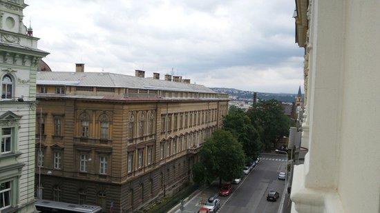 Assenzio: Widok z okna pokoju 410 :-)