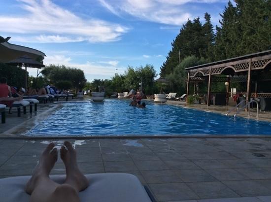Residence Bellaria : bordo piscina
