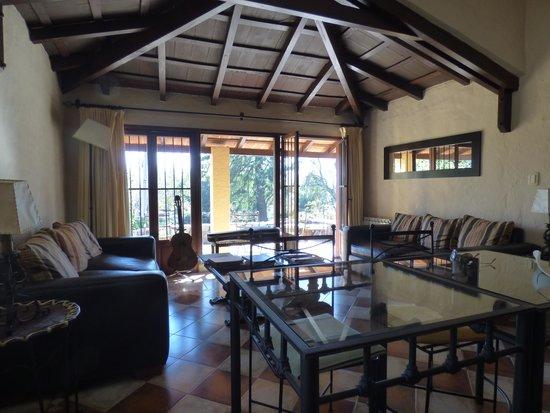 Las Chirimoyas Hotel: El living