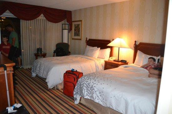 Renaissance Philadelphia Airport Hotel: Our room