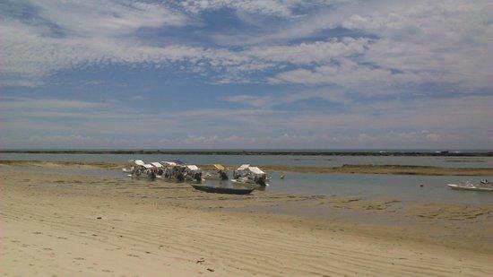 Praia de Sao Miguel dos Milagres: Barra de São Miguel
