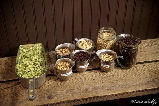 Samuel Adams Brewery : Samuel Adams ingredients.
