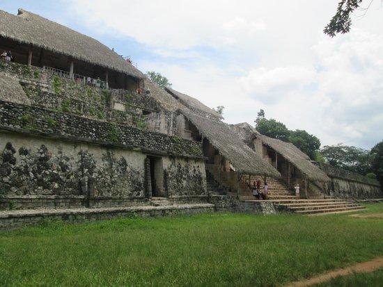 Ek Balam Mayan Ruins : Main Pyramid