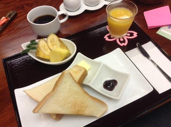 The Edo Sakura : colaziona piccola da 500yen