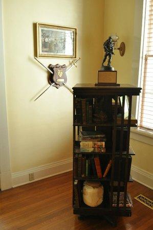 Limestone House Bed & Breakfast: 1895'ish Revolving Bookcase