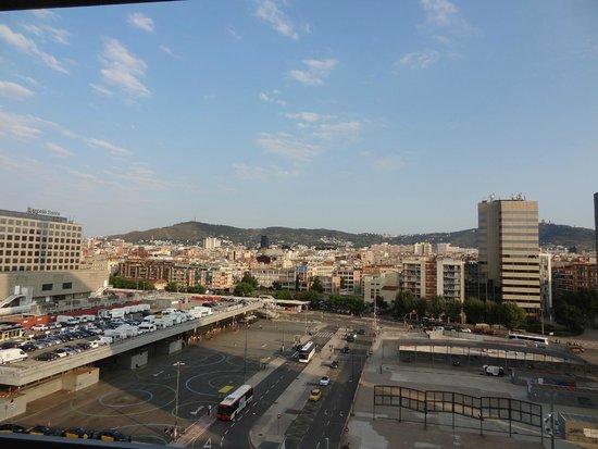Expo Hotel Barcelona : вид