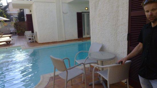 Aeolis Boutique Hotel: Terrace of room 102
