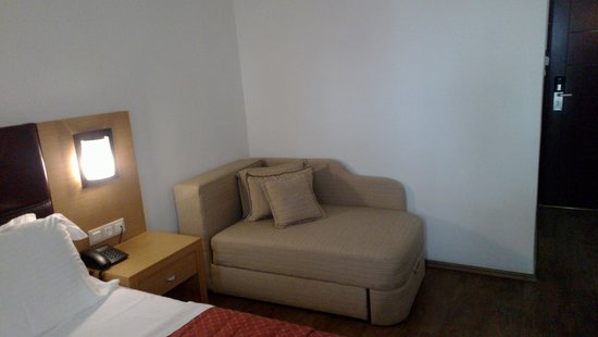 Aeolis Boutique Hotel A Small Sofa Bed