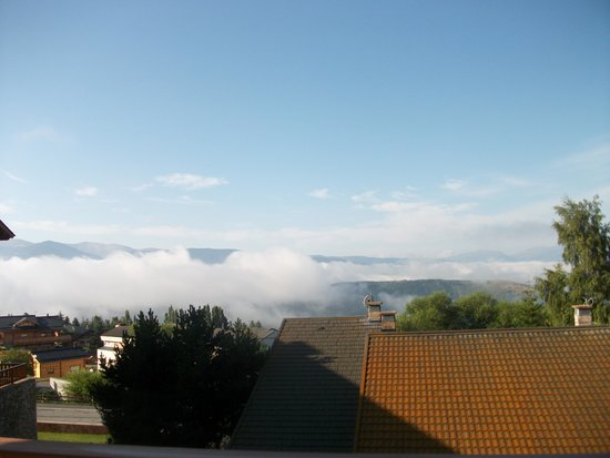 Nemea Residence Les chalets du Belvedere: Une vue depuis la terrasse
