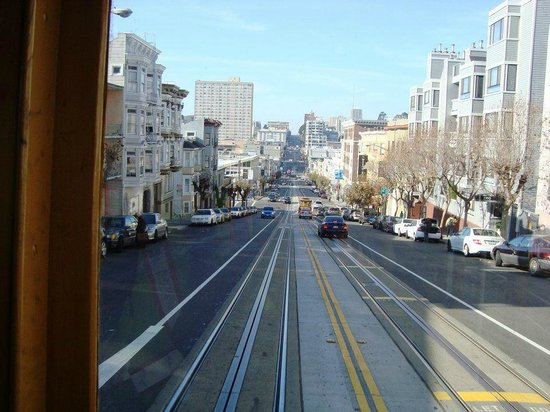 Cable Cars: A view from the Cable Car.