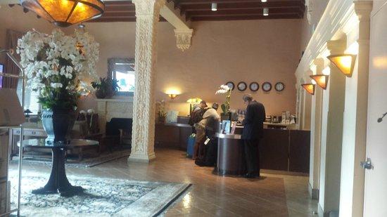 Hotel Carmel : Reception