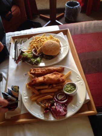 Millennium Hotel Glasgow : Room service food-surprisingly good