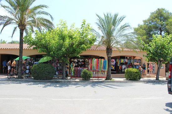 Camping La Torre del Sol : boutiques du camping
