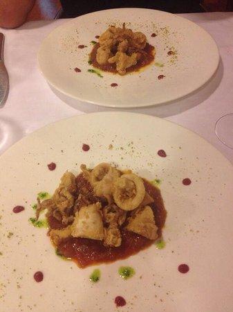 Casa Macarrilla 1966: Calamarcitos en salsa caramelizada