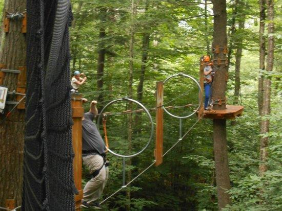Mont Tremblant Resort: Zip Line / parcour