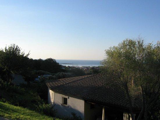 Hotel Lu Baroni : Panorama dalla suit 106