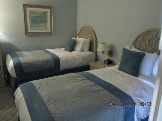 Riviera Beach Spa Resort : Beds in extra bedroom
