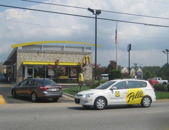 McDonald's, Airport Road, Fletcher, NC August 2014