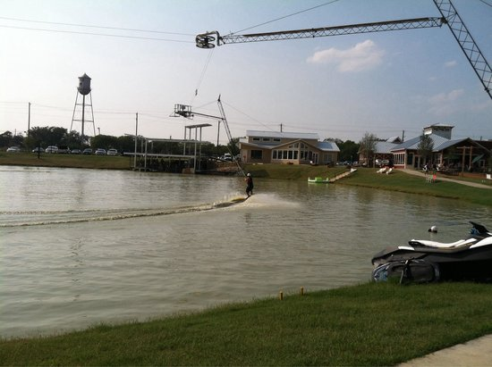 Little Elm, TX: Fun without dragging out a boat!