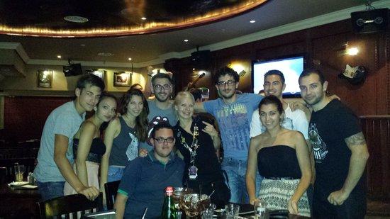 Hard Rock Cafe Malta: Great evening at Hardrock. Big thanks to our waitress, Mexi.
