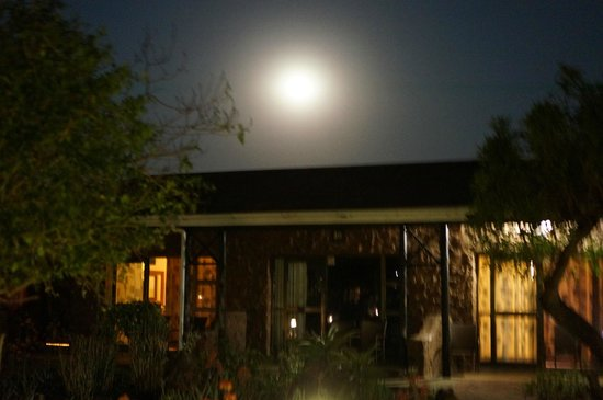 Zulu Nyala Game Lodge: night view