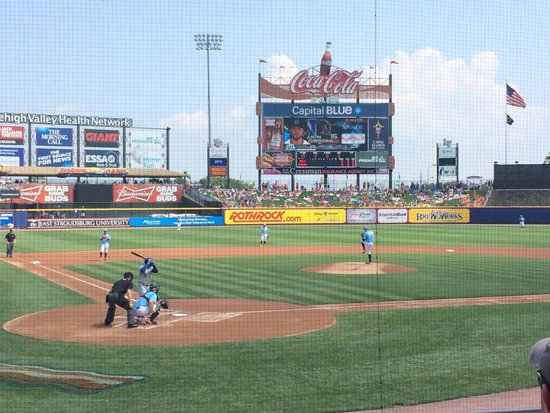 Coca-Cola Park : View from section 110 (Field Level)