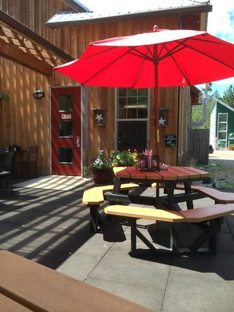 Lisa's Lakeside Bistro : Great patio seating available