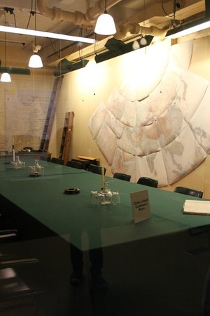 Churchill War Rooms: Inside