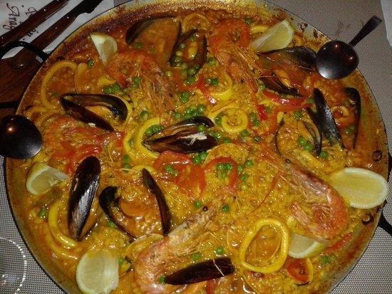 Paella Di Pesce Picture Of El Rincon Restaurant Barcelona