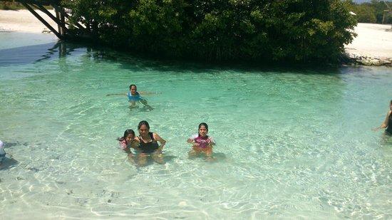 Hacienda Tres Rios : en la playa