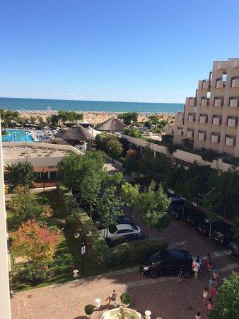 Holiday Aparthotel: Vanaf het balkon