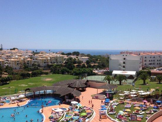 Hotel Paraíso de Albufeira : View from our room