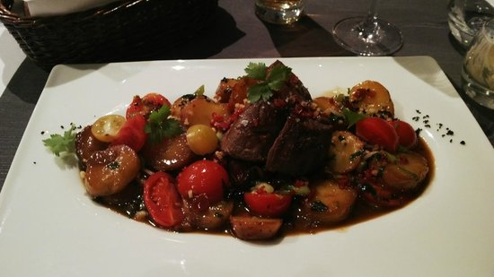 Mamaison Hotel Andrassy Budapest: Pork stew/steak