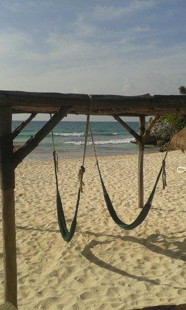 Piedra Escondida: Playa
