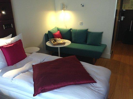 Radisson Blu Plaza Hotel, Helsinki: Sofaecke